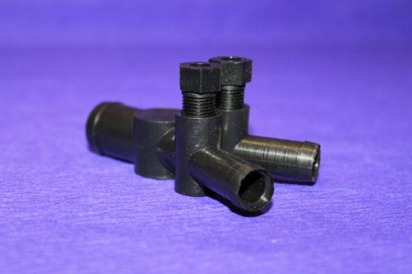 Регістр потужності (гвинт жадібності/дозатор газу) 19×12×12 з 2-м регулюванням