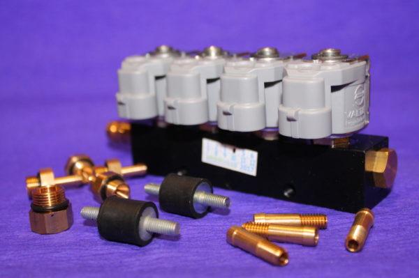 Газові форсунки Valtek Type 30 4 циліндри 2 Ом
