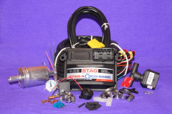 Електроніка Stag Q Box Basic на 4 циліндра (PS-04)