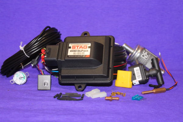Електроніка Stag 200 Go-Fast на 4 циліндра (PS-04)