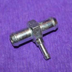 Трійник Т-образний вакуумний 12х5х12 (алюмінієвий)