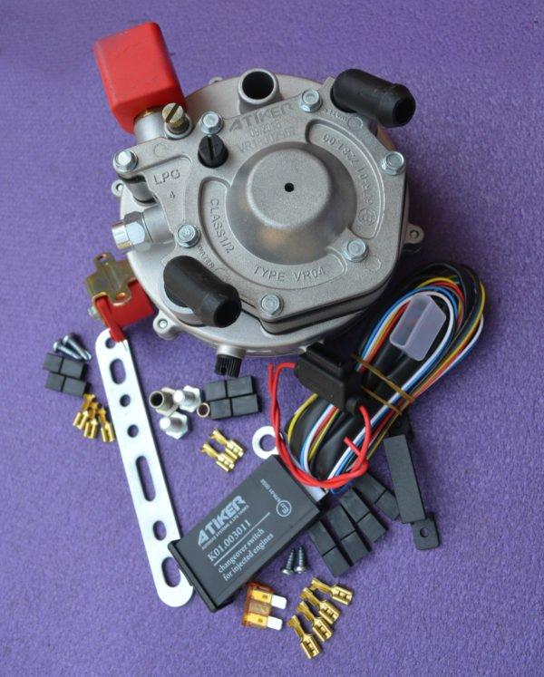 Комплект інжекторної системи LPG Mini Kit VR04