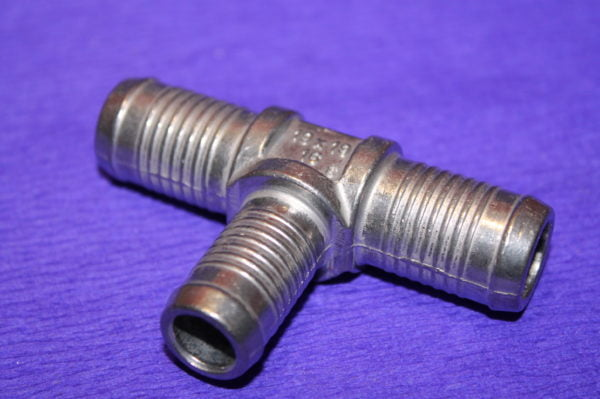 Трійник тосольний 19×16×19 (алюмінієвий)