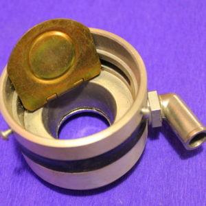 Змішувач ВАЗ інжектор 60 мм з протиударним клапаном (кут металевий)