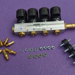 Газові форсунки Stag W-01 на 4 цил