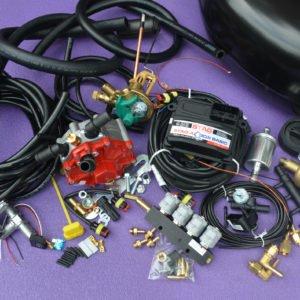 Комплект газового обладнання на 4 пок., 4 цил. Stag-4 Q-Box Basic+Stag+Valtek