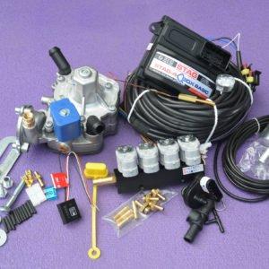 Підкапотна частина газового встановлення на 4 пок., 4 цил. Stag-4 Q-Box Basic+Nordic+Valtek