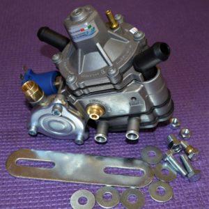 Газовий редуктор Tomasetto AT13 XP (пропан-бутан) 4-е пок., до 375 к.с. (до 275 кВт), вхід D8 (M12x1), вихід D12