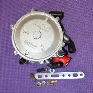 Газовий редуктор Atiker VR01 Super (пропан-бутан) 2-3-е пок., ел., 190 л.с. (140 кВт) вхід D6