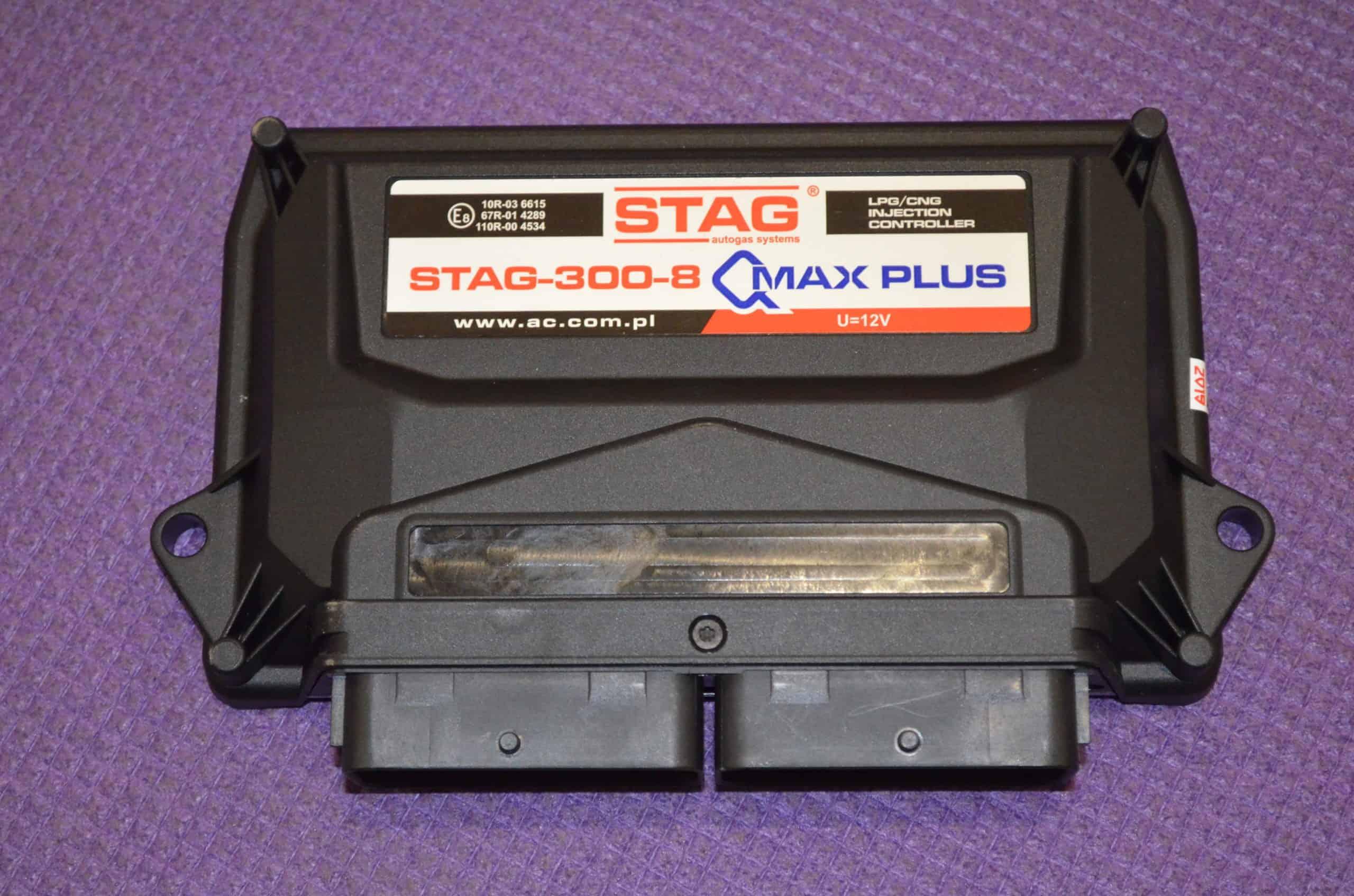 Електронний блок управління STAG-300-8 Q- Max Plus на 8 цил