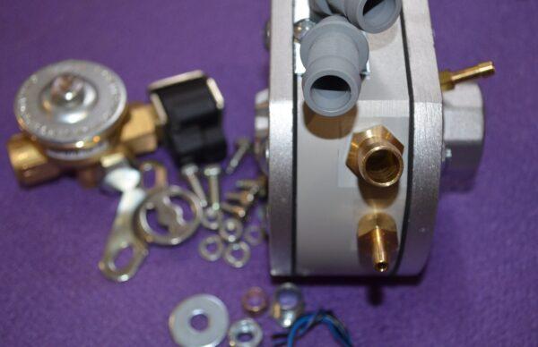 Газовий редуктор KME Silver FZ-8 (вхід D8) з ЕМК