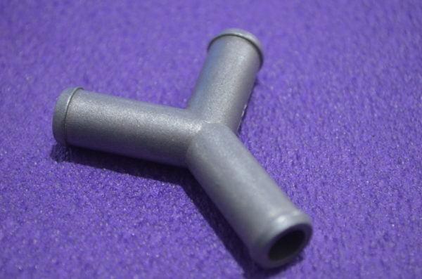 Трійник газовий Y-подібний 12х12х12 (алюминій)