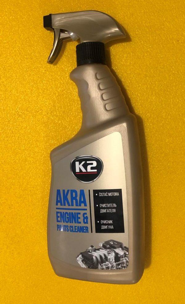 Очисник двигуна К2 AKRA (аерозоль) 770 ml