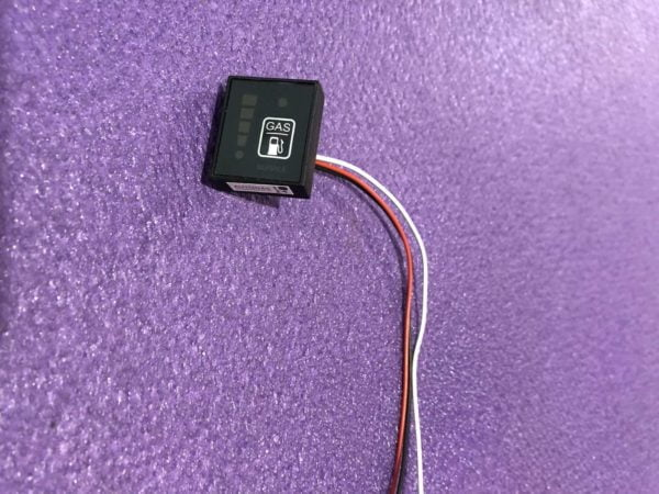 Перемикач (кнопка) газ/бензин LED-200 GoFast для систем STAG