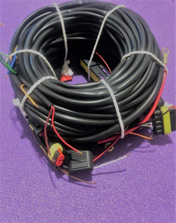 Проводка до блоку управління STAG-300 Q-Max Basic 6 циліндрів