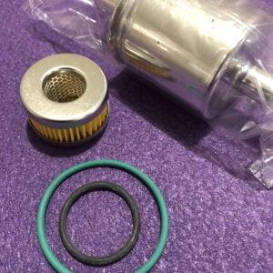 Комплект фільтрів: Фільтр парової фази та фільтр в редуктор Tomasetto з резинками