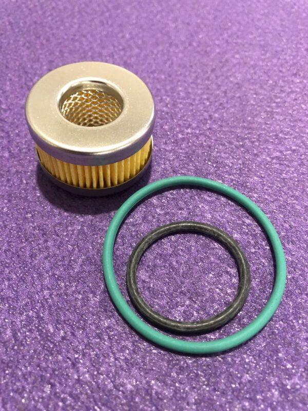 Фільтр до редуктора Tomasetto з резинками (1 шт зелена і 1 шт чорна резинки)