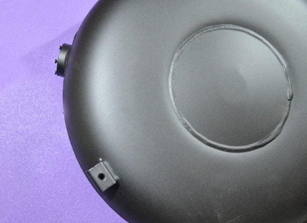 Балон тор зовнішній повнотілий із зовнішнім кріпленням 43 л H180 mm*D630 mm,Tugra