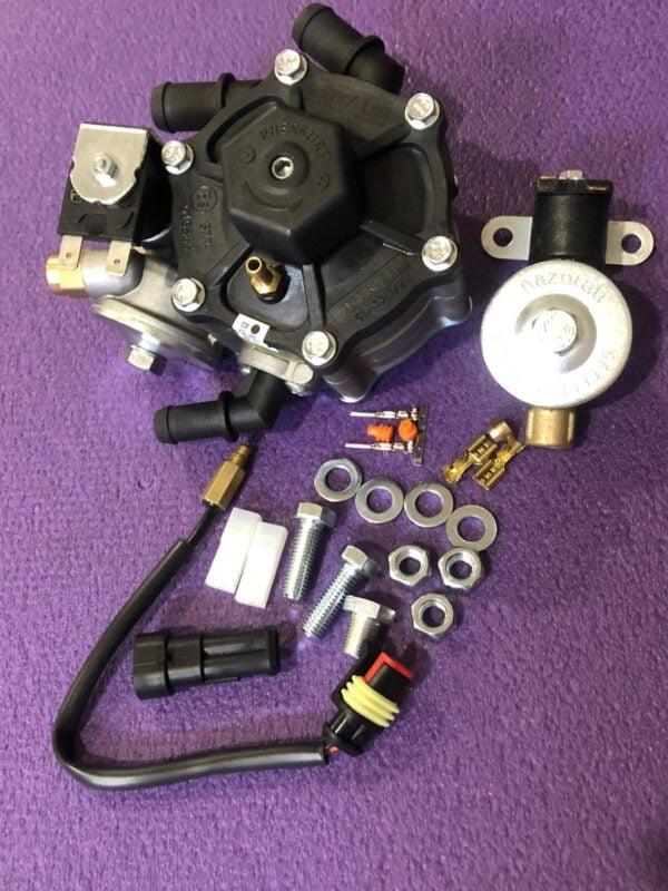 Газовий редуктор STAG R02 EL (пропан-бутан), 4-е пок., 120 л.с.