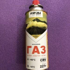 Пальник (картридж з газом) бутан змінний 227г Sigma