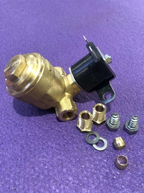 Електромагнітний клапан газу ОМВ 6mm