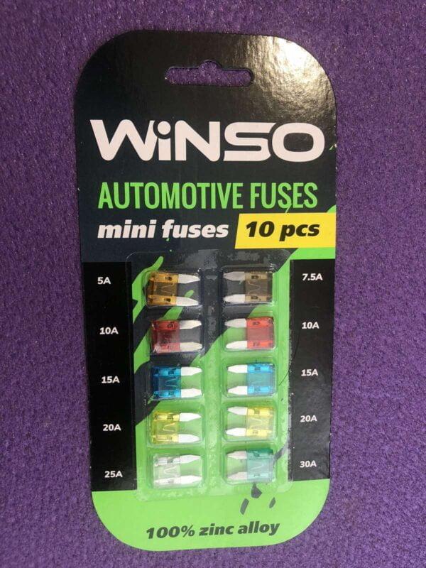 Запобіжник ATC Winso 5A 7.5A 10A 15A 20A 25A 30А 155100 minі