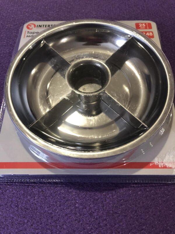 Тарілка магнітна 4 секції, 148 × 25 мм INTERTOOL ET-1052