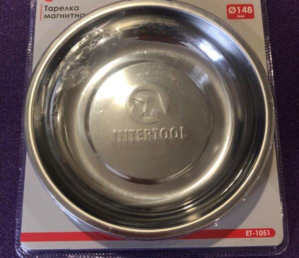Тарілка магнітна 148 × 25 мм INTERTOOL ET-1051