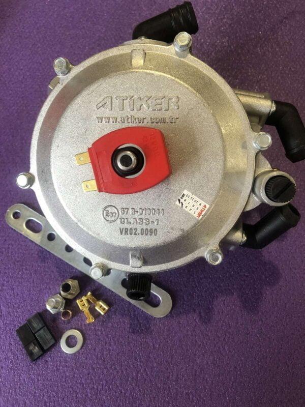 Газовий редуктор Atiker VR02 вакуумний 90kw (120 к.с.) вхід d6