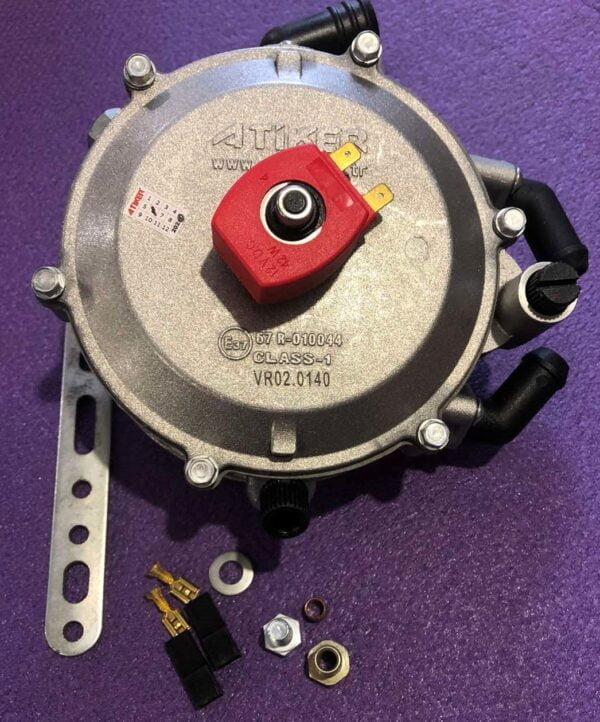Газовий редуктор Atiker VR02 Super (140kw ) 190 к.с. вхід D6